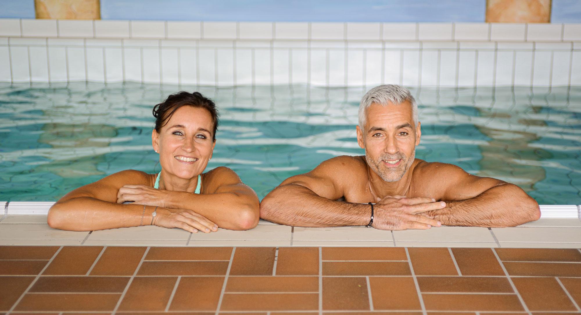 Schwimmbad im Hotel im Weingarten